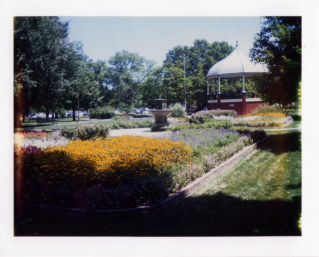 gazebo polaroid