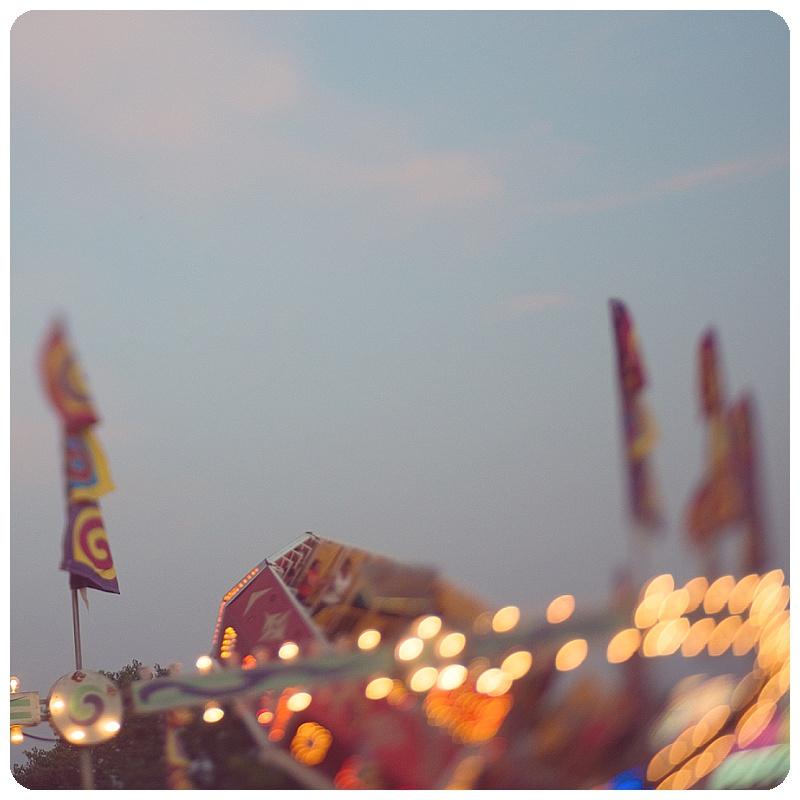 Carnival at Night Trina Baker Photography  County Fair