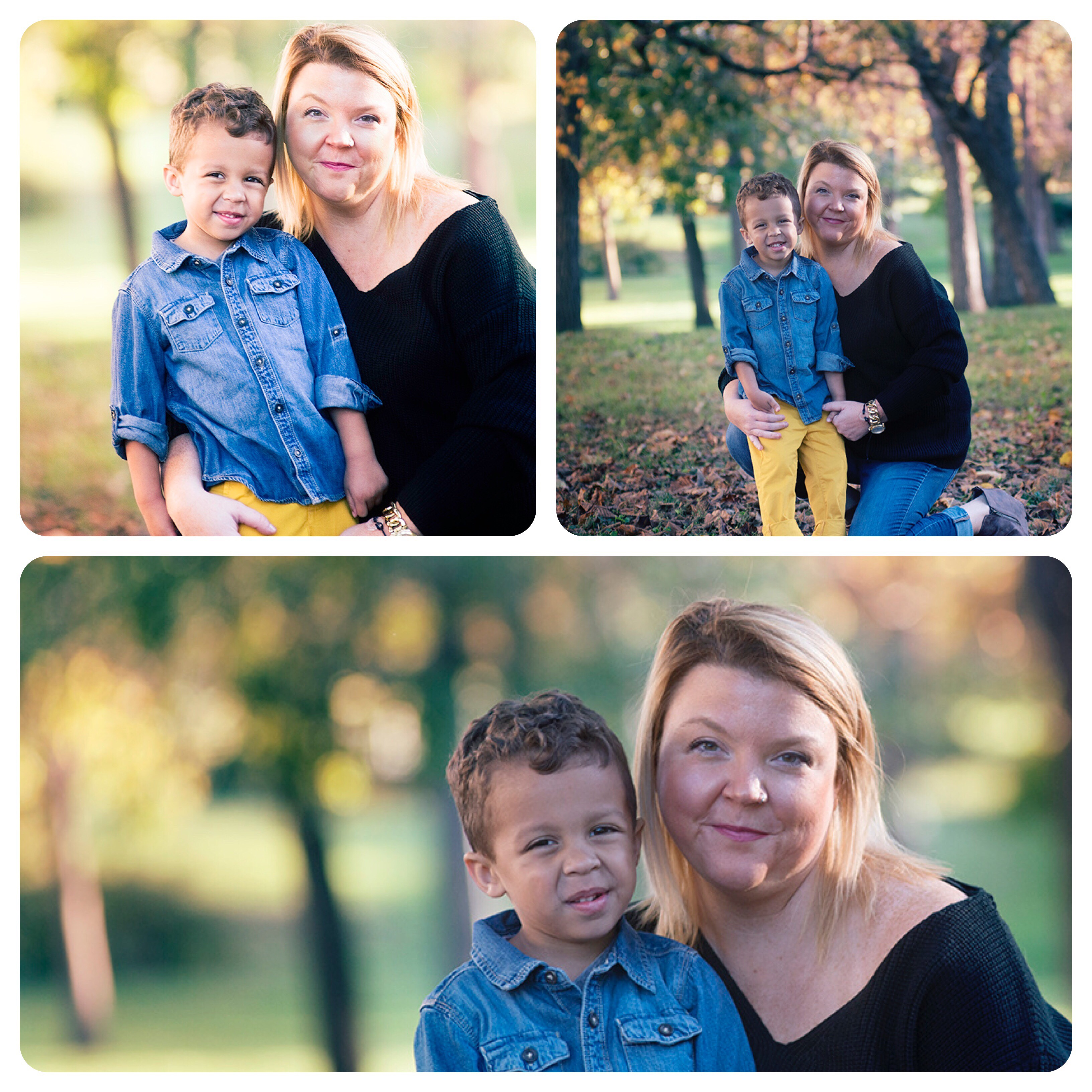 Family portraits of mother and child in Kansas by Trina Baker Photography