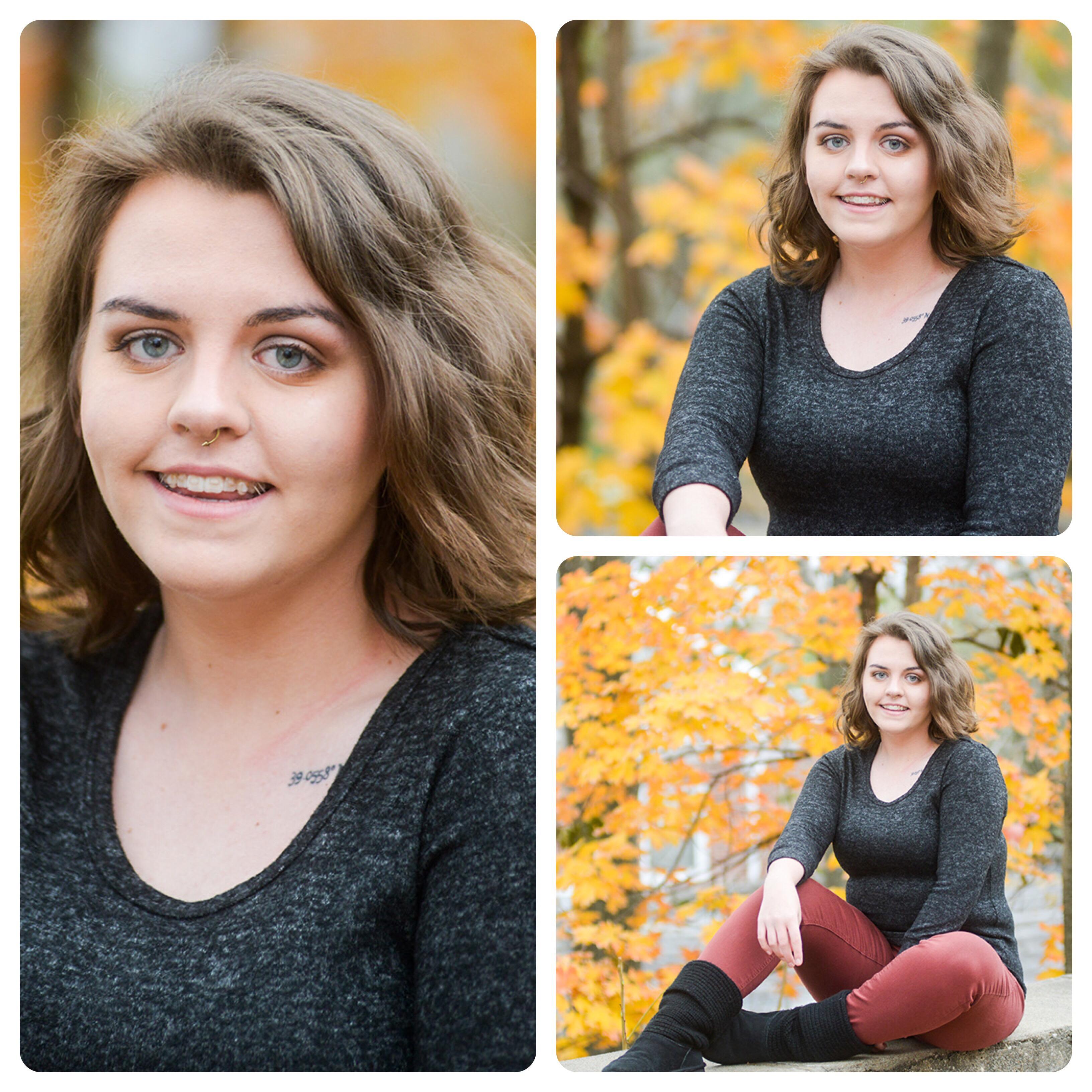 Senior girl Photos autumn Kansas
